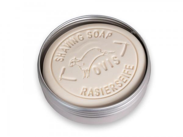 Ovis Rasierseife für Herren in Aludose mit Prägung 100 g