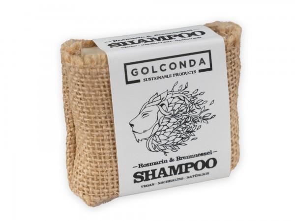 Golconda Haarseife mit Rosmarinöl und Brennnessel